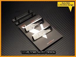 Honda Döşeme Paspas Logo Amblem Seti