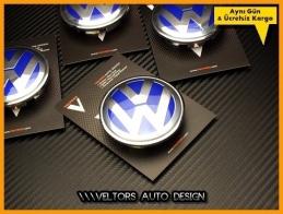 VW Logo Amblem Jant Göbeği Göbek Kapak Seti