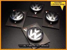 VW Logo Amblem Orjinal Jant Göbeği Göbek Kapak Seti
