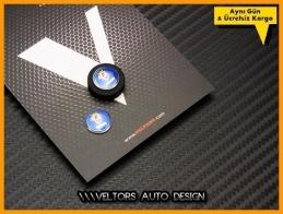 Saab Anahtarlık Kumanda Logo Amblem Seti
