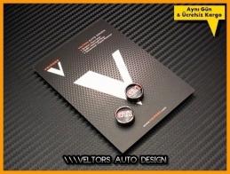 VW Gti Kumanda Anahtar Logo Amblem Seti