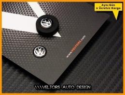 VW Yeni Nesil Anahtarlık Kumanda Anahtar Logo Amblem Seti
