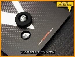 VW Yeni Nesil R Line Anahtarlık Kumanda Anahtar Logo Amblem Seti