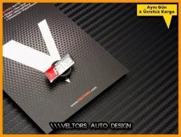 Audi RS Direksiyon Logo Amblem
