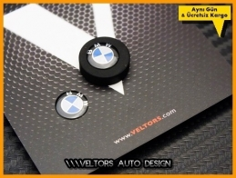 BMW Orjinal Anahtarlık Kumanda Logo Amblem Seti