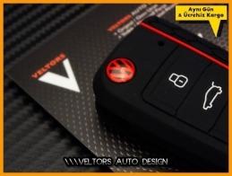 VW Golf 7 Polo Kumanda Anahtar Koruma Kabı Kılıfı