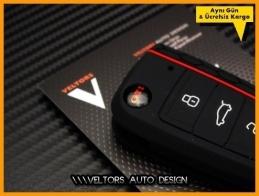 VW Gti Golf 7 Polo Kumanda Anahtar Koruma Kabı Kılıfı