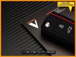 VW R Line Golf 7 Polo Kumanda Anahtar Koruma Kabı Kılıfı