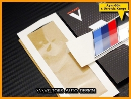 BMW Serisi Orjinal M Bagaj Yazı Logo Amblem