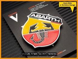Fiat ABARTH Araç Logo Amblem