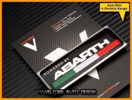 Fiat ABARTH Plaket Logo Amblem