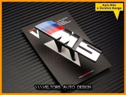 BMW Yeni Nesil M5 Ön Izgara Logo Amblem