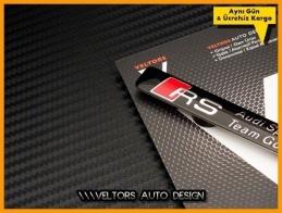 Audi RS Motorsports Araç Logo Amblem