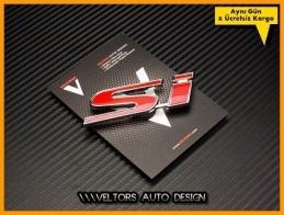 Honda Si Bagaj Yazı Logo Amblem