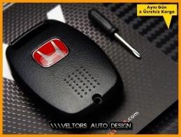 Honda Anahtarlık Kumanda Kabı Logo Amblem