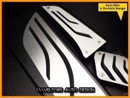 BMW M Logo Amblem F30 F31 F32 F33 F34 F36 3 ve 4 Serisi Otomatik Pedal Seti