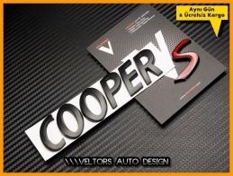 Mini Cooper S Bagaj Yazı Logo Amblem