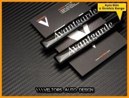 Mercedes Avantgarde Yan Logo Amblem Seti