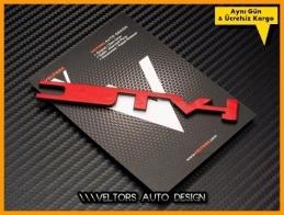 Honda i-vtec Bagaj Yazı Logo Amblem