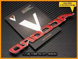 Honda Accord Bagaj Yazı Logo Amblem