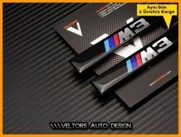 BMW 3 Serisi Body M3 Logo Amblem Seti