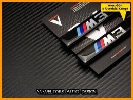 BMW 3 Serisi M3 Logo Amblem Seti
