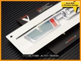 Skoda Orjinal VRS RS Bagaj Yazı Logo Amblem