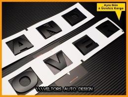 Land Rover Ön Kaput Arka Bagaj Yazı Logo Amblem