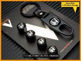Honda Logo Amblem Anahtarlık Sibop Kapak Seti