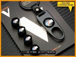 BMW M Logo Amblem Anahtarlık Sibop Kapak Seti