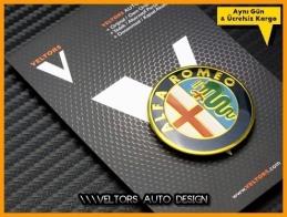 Alfa Romeo Yeni Nesil Direksiyon Logo Amblem