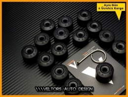 VW Logo Amblem Orjinal Jant Bijon Kapak Seti