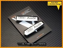 Audi Paspas Döşeme Logo Amblem Seti
