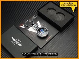 BMW Hartge Logo Amblem Özel Krom Hartge Anahtarlık