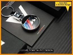 BMW M Technic Logo Amblem Özel Krom M Anahtarlık