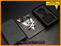 BMW X Drive Logo Amblem Özel Krom Anahtarlık