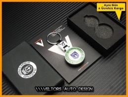 BMW Racing Dynamics Logo Amblem Özel Krom Anahtarlık