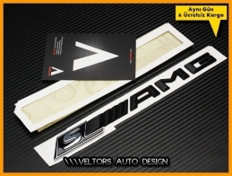 Mercedes AMG Super Class Bagaj Yazı Logo Amblem