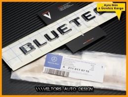 Mercedes Bluetec Bagaj Bagaj Yazı Logo Amblem