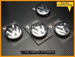 VW T5 Touareg Logo Amblem Jant Göbeği  Göbek Kapak Seti