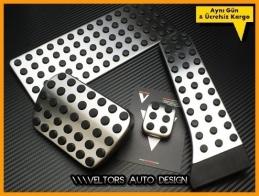 Mercedes AMG Logo Amblem Otomatik Pedal Seti