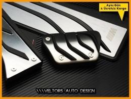 BMW F10 F11 5 Serisi F07 GT Serisi M Logo Amblem Pedal Seti