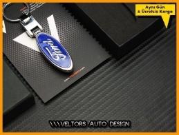 Ford Logo Amblem Özel Krom Ford Anahtarlık