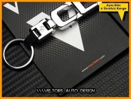Mercedes CLK Class Serisi Logo Amblem Özel Krom CLK Anahtarlık