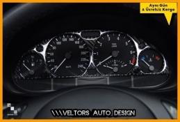BMW E46 M Carbon Gösterge Kadran Halka Bezel Panel Çerçevesi