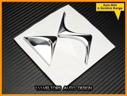Citroen DS Bagaj Yazı Logo Amblem