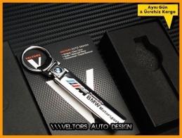 BMW M Motorsport Logo Amblem Özel Krom BMW M Anahtarlık