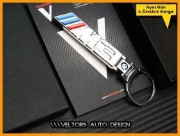 BMW 3 Serisi M Logo Amblem Özel Krom M3 Anahtarlık