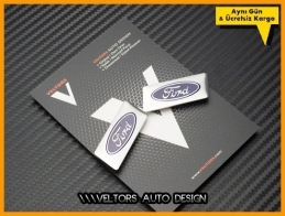 Ford Koltuk Döşeme Logo Amblem Seti