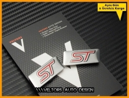 Ford ST Koltuk Döşeme Logo Amblem Seti